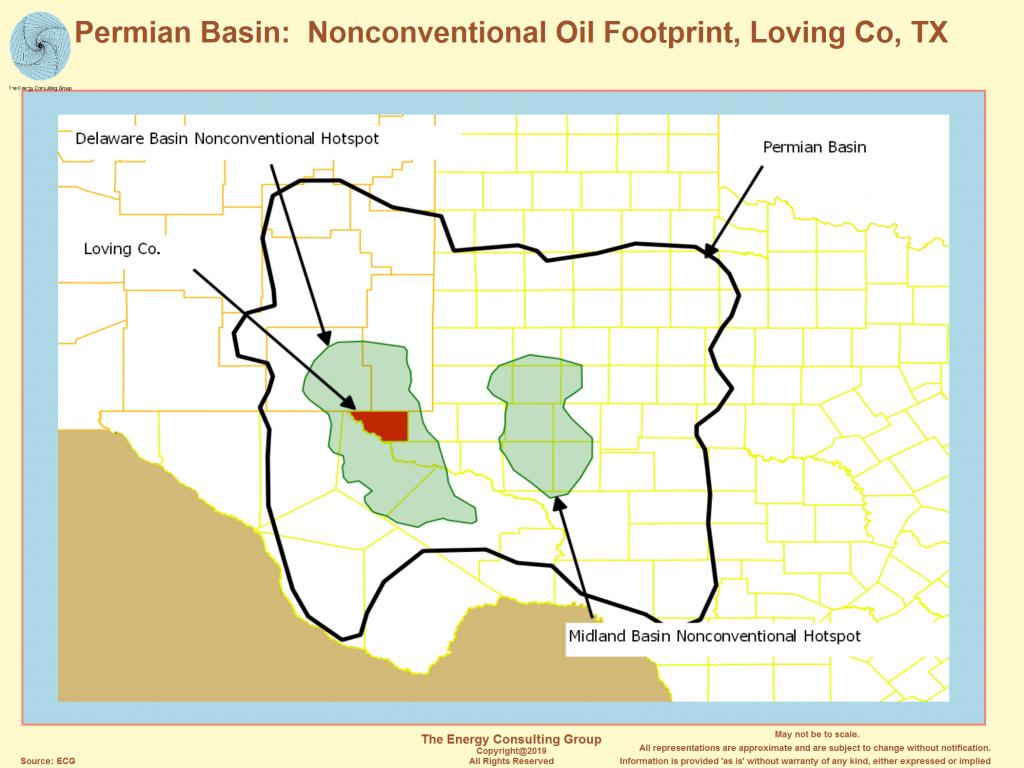 Permian Basin - Permian Basin Texas Map