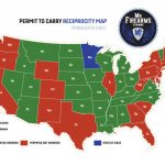 Permit To Carry Maps | Mn Firearms Training   Florida Ccw Map