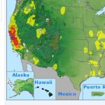 """Peter Gleick On Twitter: """"much Of The State Of California Is - Aqi Map California"""