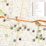 Philadelphia Printable Tourist Map In 2019 | Free Tourist Maps   Printable Map Of Philadelphia
