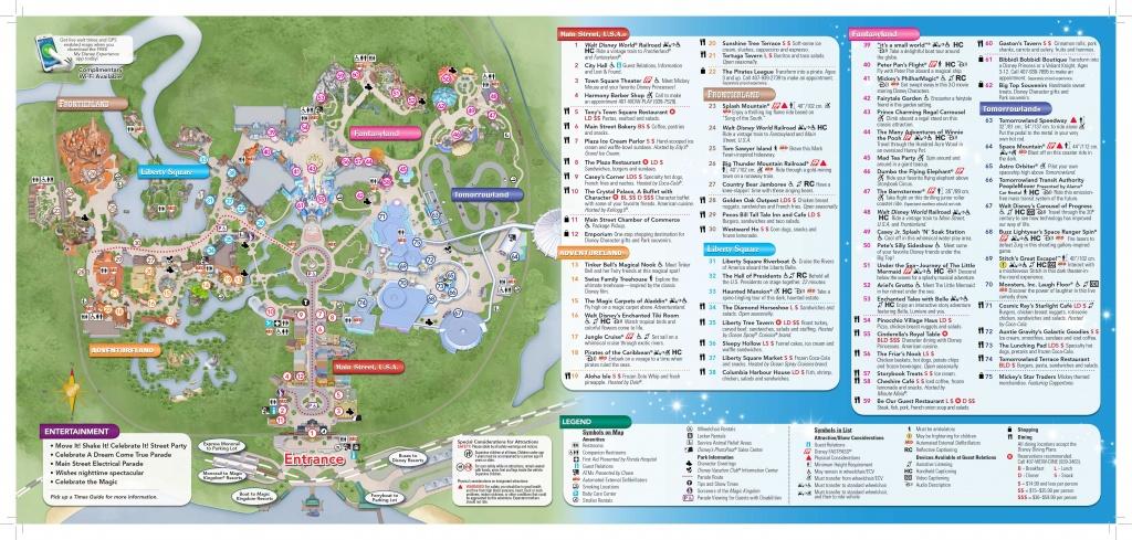 Photo Storybook Circus On New Magic Kingdom Park Map Today Disney - Printable Magic Kingdom Map 2017