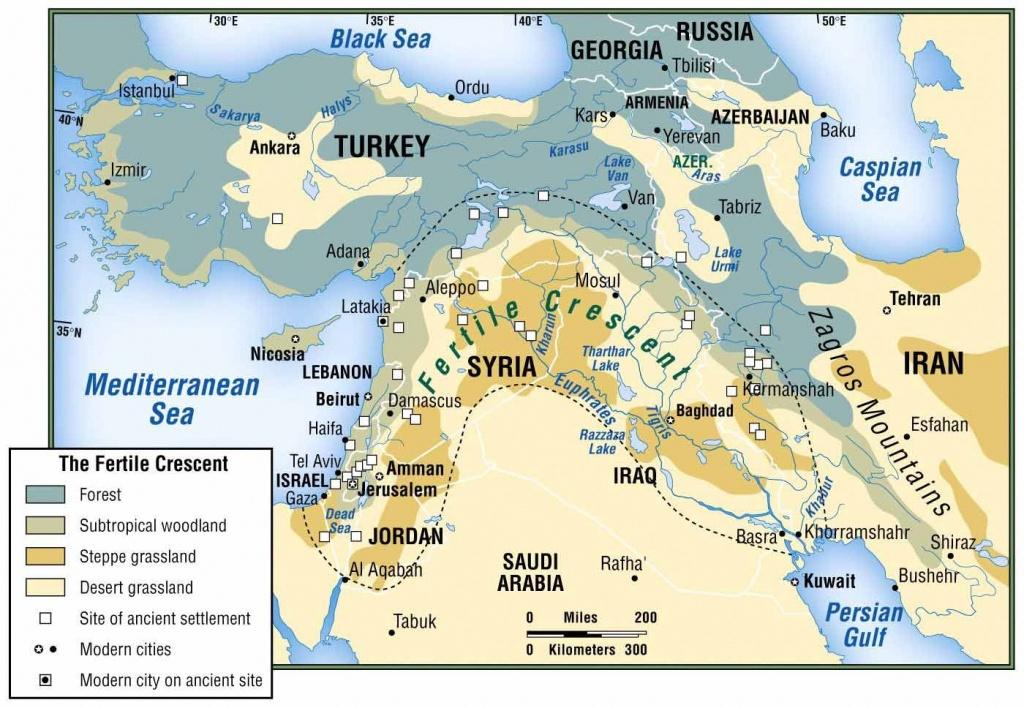 Physical Map Of Fertile Crescent - Google Search | Mesopotamia - Fertile Crescent Map Printable