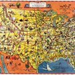 Pictorial Map Setting Forth The Services Of The Greyhound Lines And   Greyhound Map California