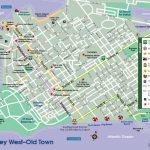 Pin De Linda Manson Amirault En Vacation | Key West Map, Key West   Map Of Key West Florida Attractions
