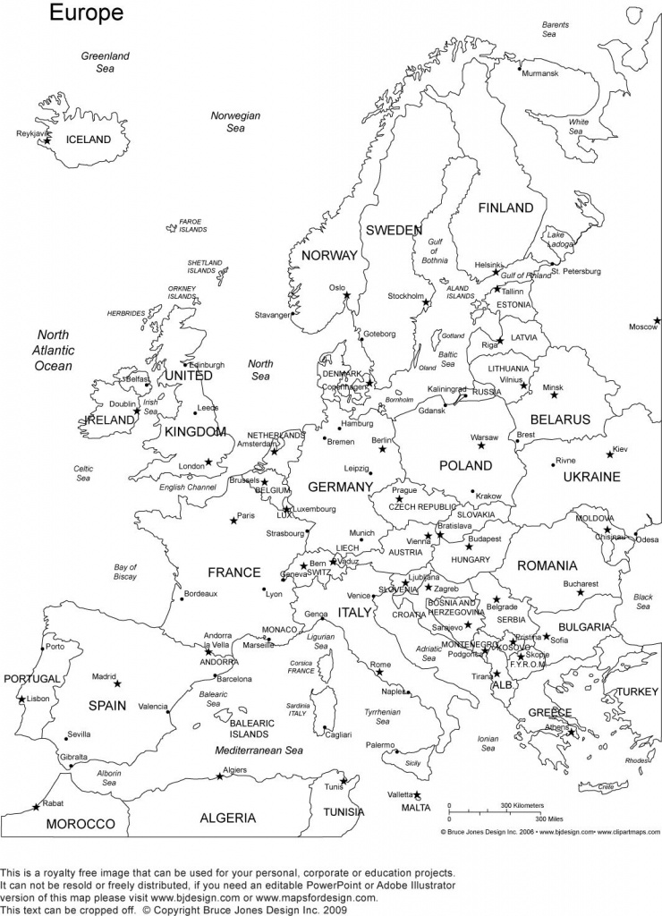 Pinamy Smith On Classical Conversations | Europe Map Printable - Europe Map With Cities Printable