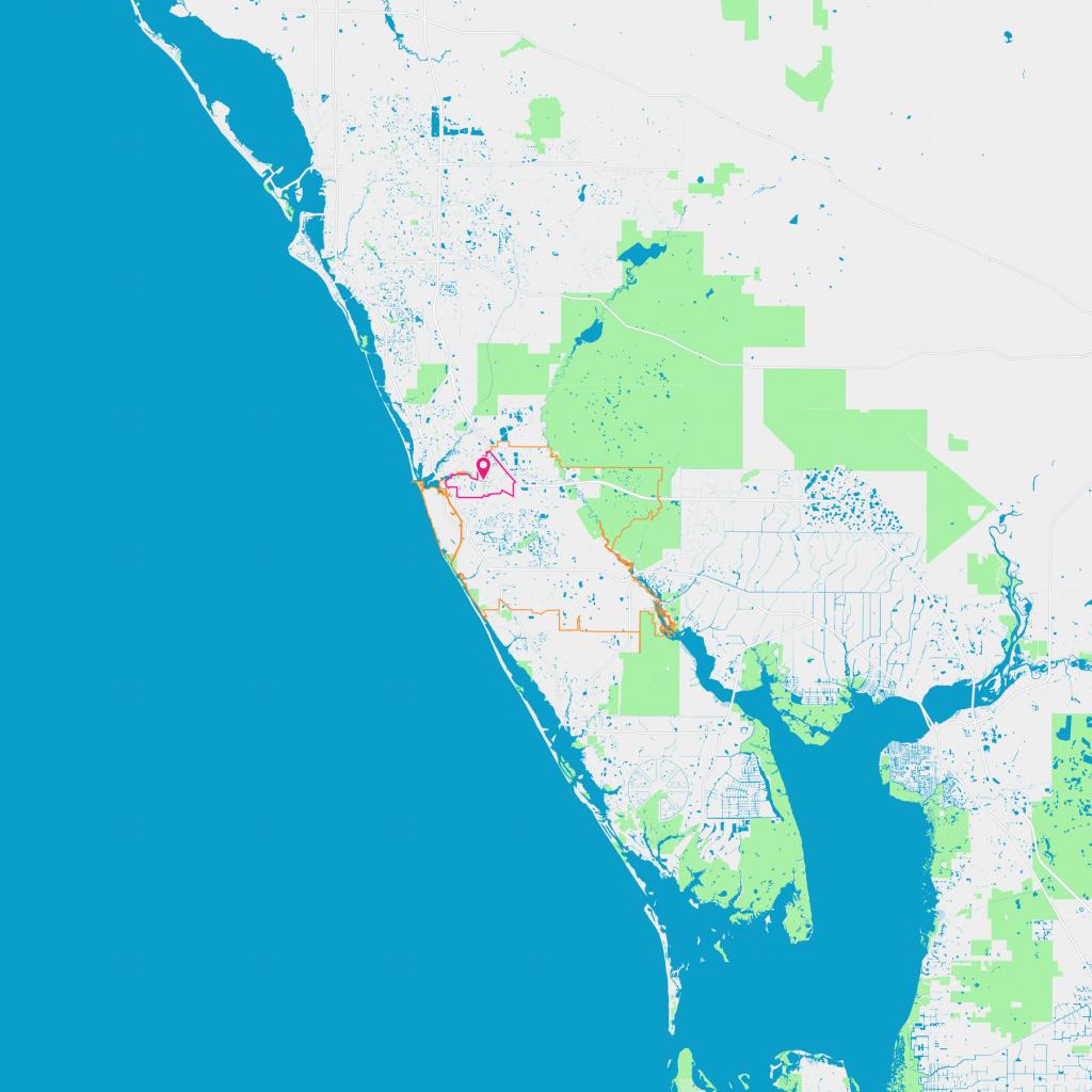 Pinebrook Neighborhood Guide - Venice, Fl | Trulia - Map Of South Venice Florida