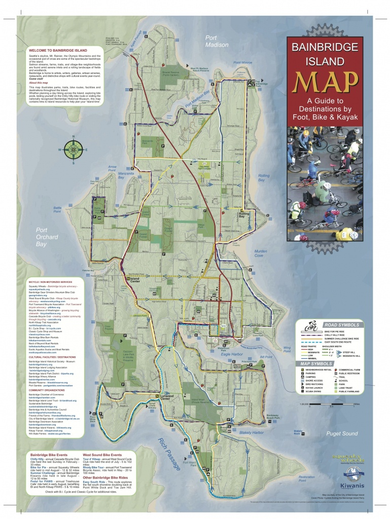 Pineden Whitmire On Places To Go In 2019 | Bainbridge Island - Vashon Island Map Printable