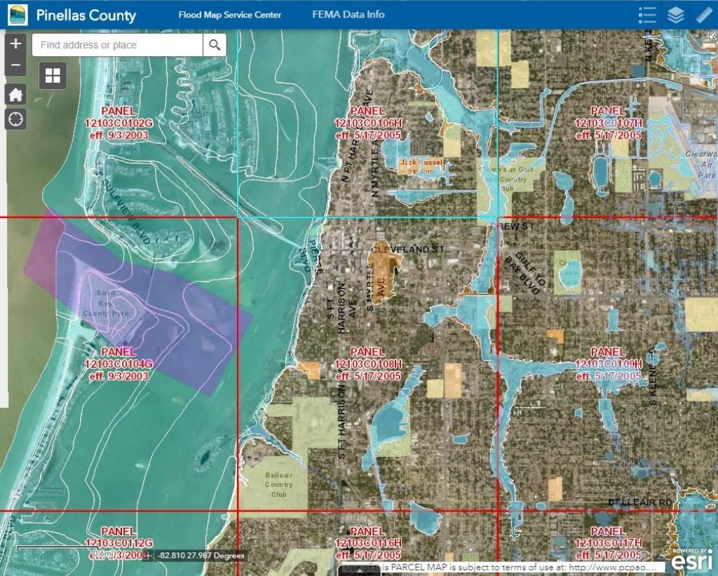 Pinellas County Schedules Meetings After Recent Fema Updates | Wusf News - Gulf County Florida Flood Zone Map