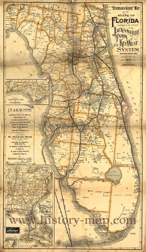 Pingregg Bryant On Obsessed With Maps  | Florida, Vintage - Vintage Florida Map Poster
