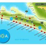 Pinjulie Tekell On 30A In 2019 | Rosemary Beach Florida, Florida   Blue Mountain Beach Florida Map