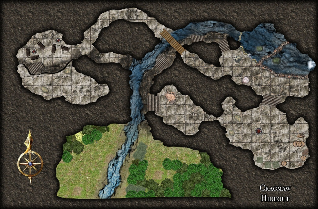 Pinkevin Daignault On Gaming Maps - Minis In 2019 | Dungeon Maps - Cragmaw Hideout Printable Map