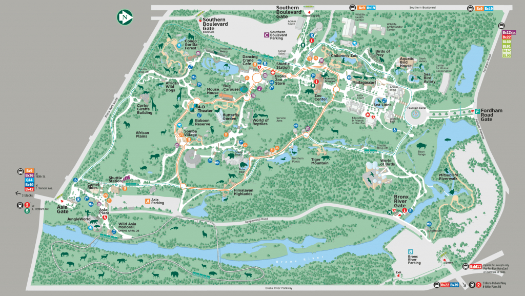 Pinlaura Malischke On Nyc!! | Bronx Zoo, Zoo Map, Map - Bronx Zoo Map Printable