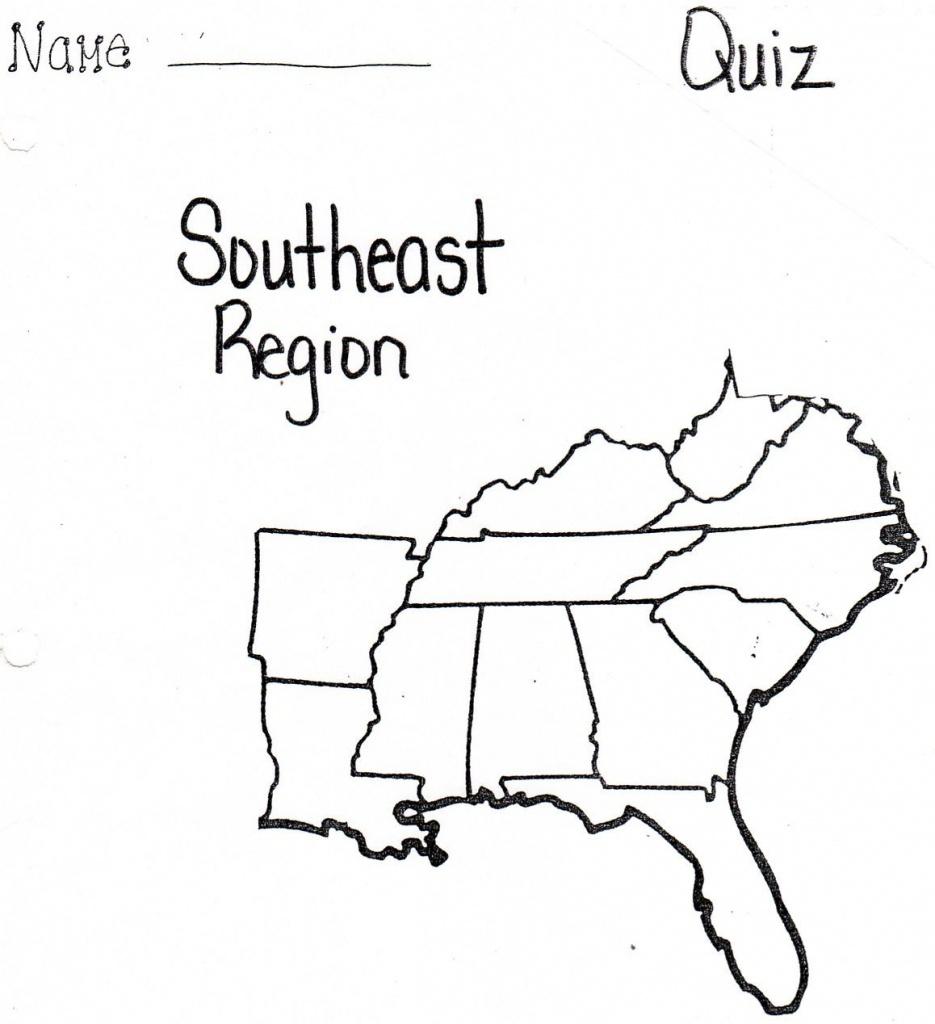 Pinnadine Castro On School | Us Map Printable, Map, Us Map - Printable Map Of Southeast Us
