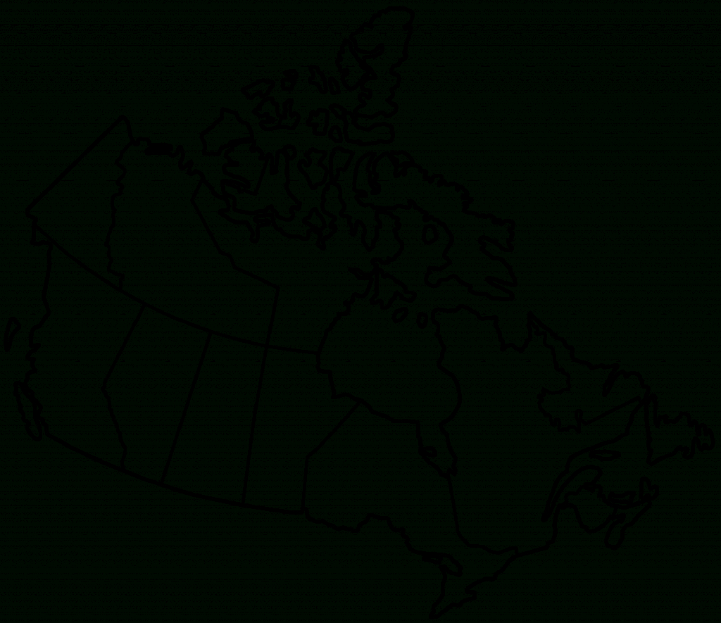 Pinrhonda Scroggins On Geography And History | Map, Canada For - Map Of Canada Black And White Printable