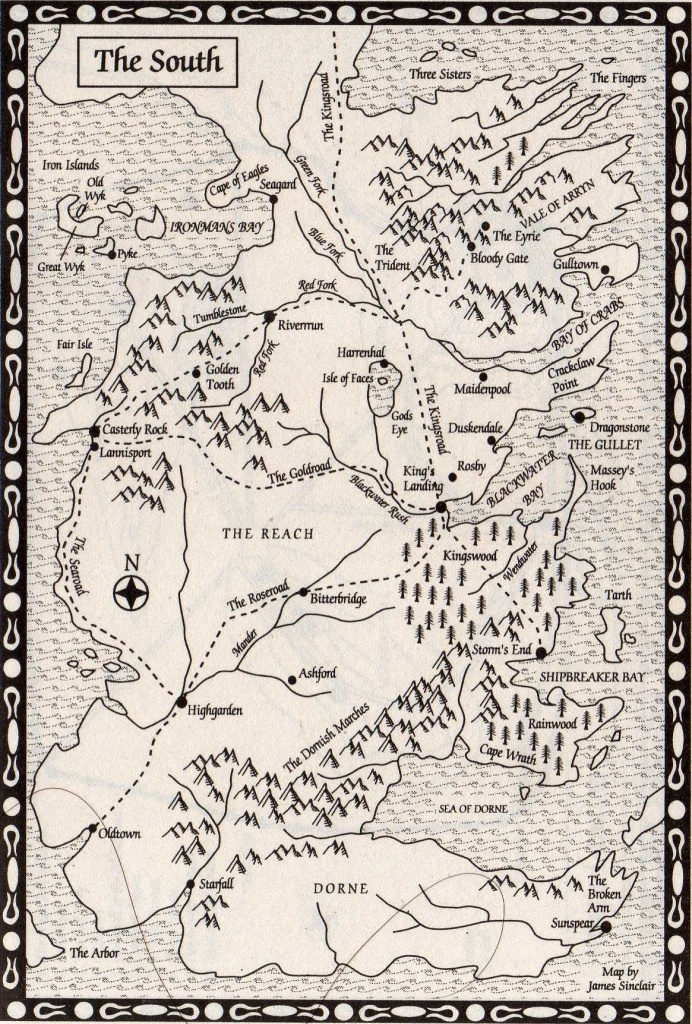 Pintess Richardson On Fictional Places & Spaces In 2019   Game - Game Of Thrones Printable Map
