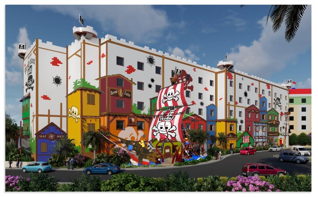 Pirate Island - Florida Map Hotels