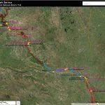 Places   Lewis & Clark National Historic Trail (U.s. National Park   Lewis And Clark Trail Map Printable