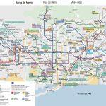Plano De Metro De Barcelona 2019   Metro Map Barcelona Printable