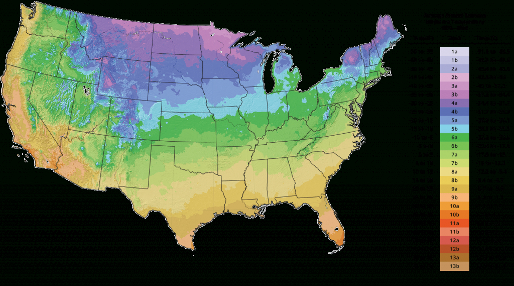 Plant Hardiness Zone Map - Tree Growing Zones | The Tree Center™ - Usda Zone Map Florida