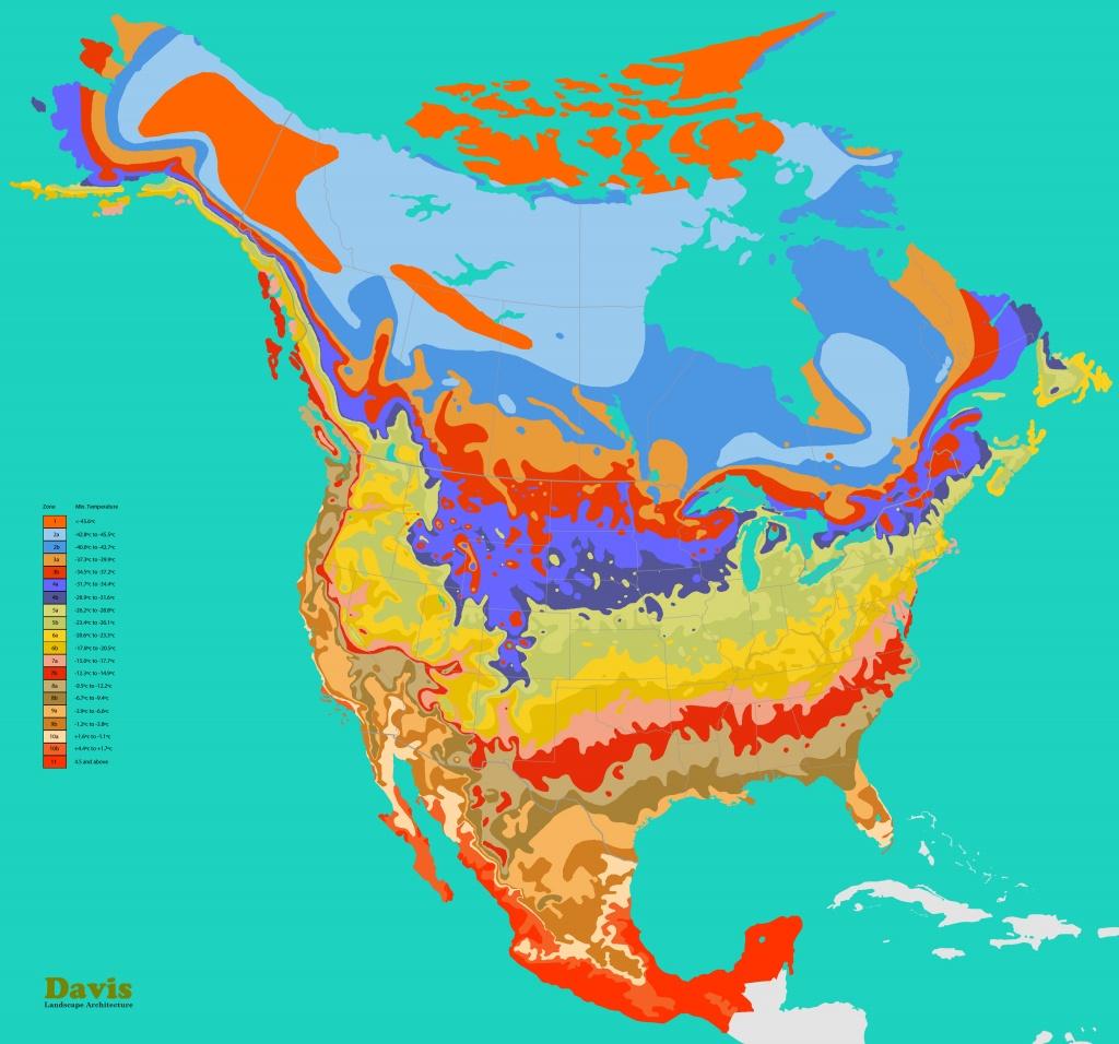 Plant Zones   Landscape Architect's Pages - Plant Zone Map Florida