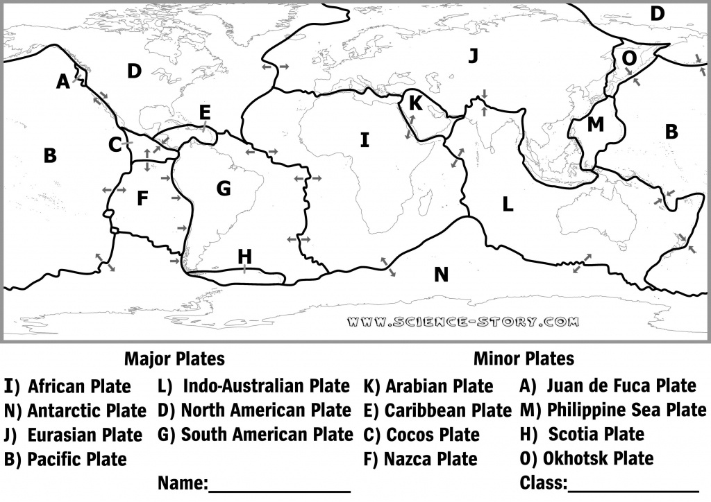 Plate Tectonics Diagram Black And White - Google Search | Tectonic - World Map Tectonic Plates Printable