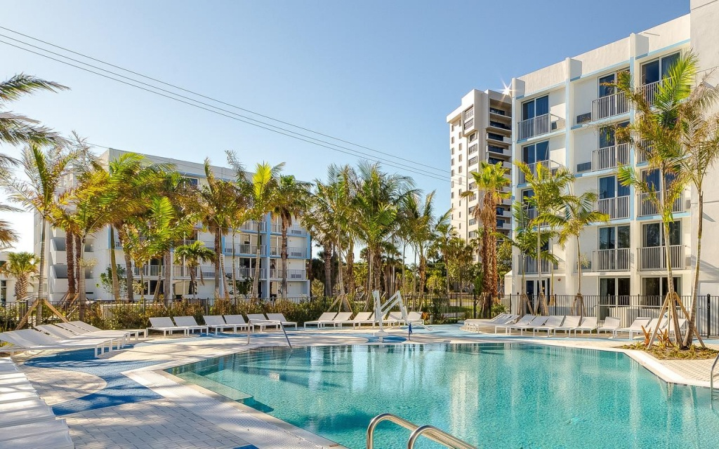 Plunge Beach Hotel, Fort Lauderdale, Fl - Booking - Map Of Hotels In Fort Lauderdale Florida