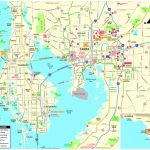 Pocket Map   Tampa Florida Airport Hotels Map