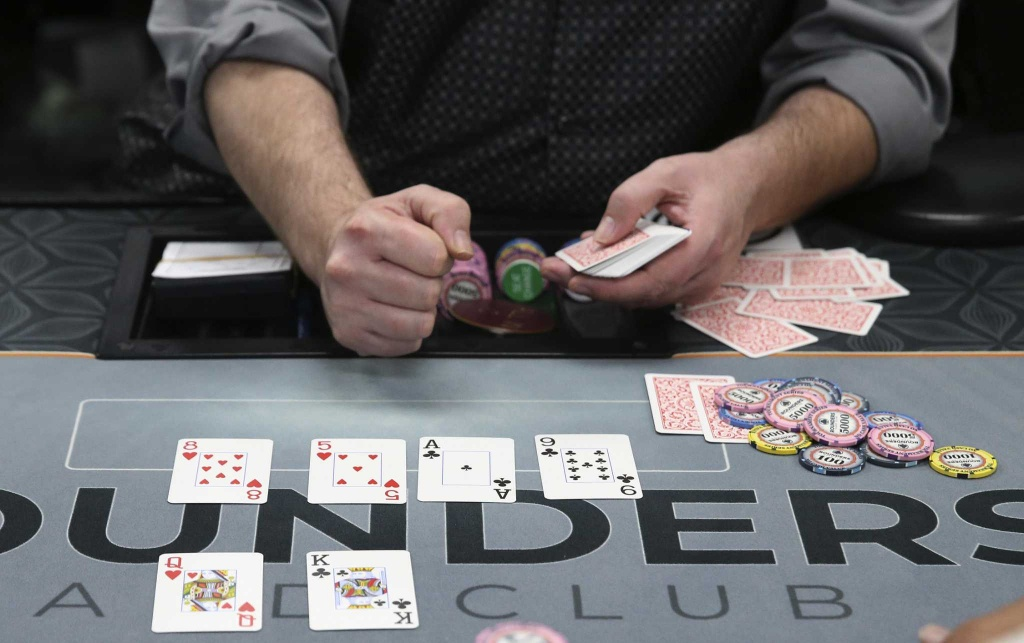 Poker Rooms Flourishing, But Will The Law Shut Them Down - California Poker Rooms Map