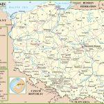Poland Political Map   Printable Map Of Poland