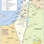 Political Map Of Israel - Nations Online Project - Printable Map Of Israel Today