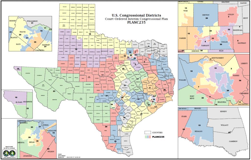 Political Participation: How Do We Choose Our Representatives - Texas House Of Representatives District Map