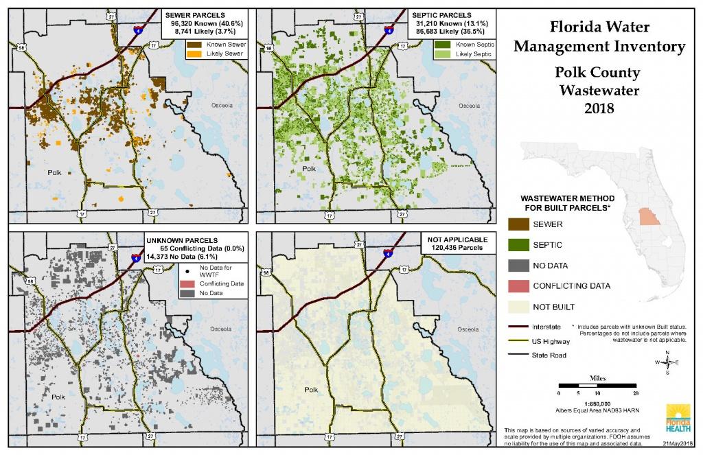 Polk Florida Water Management Inventory Summary | Florida Department - Polk County Florida Parcel Map