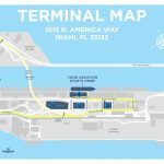 Port Of Miami Map And Travel Information | Download Free Port Of   Miami Florida Cruise Port Map