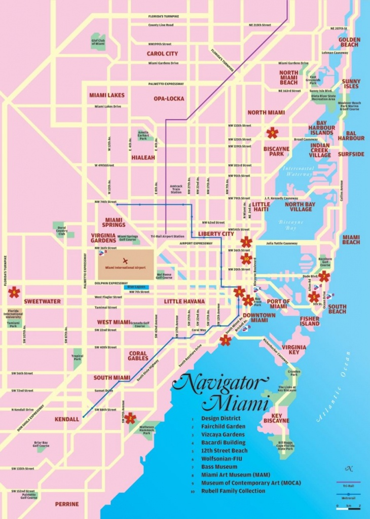 Port Of Miami Map And Travel Information   Download Free Port Of - Miami Florida Cruise Port Map