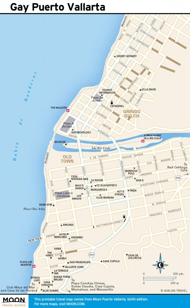 Portavita Mexico Map Printable Travel Maps Of Puerto Vallarta - Puerto Vallarta Maps Printable