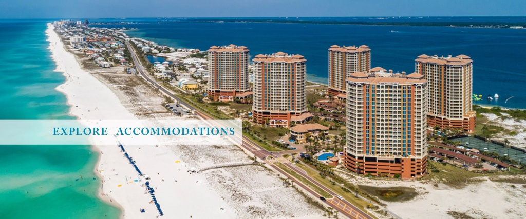 Portofino Island Resort | Beach Vacation Rentals | Vacation Condos - Portofino Florida Map