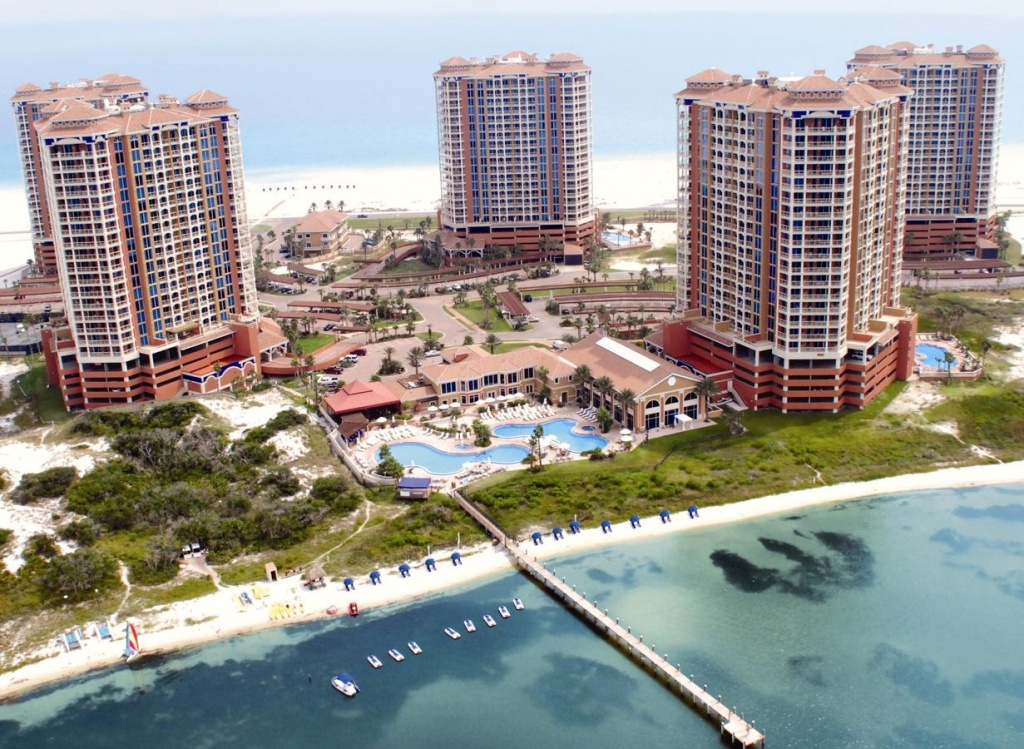Portofino Island Resort, Pensacola Beach, Fl - Booking - Portofino Florida Map
