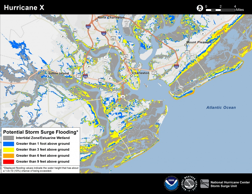 Potential Storm Surge Flooding Map - Florida Future Flooding Map