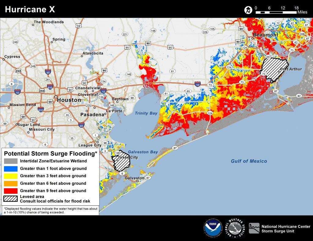Potential Storm Surge Flooding Map - Naples Florida Flood Zone Map