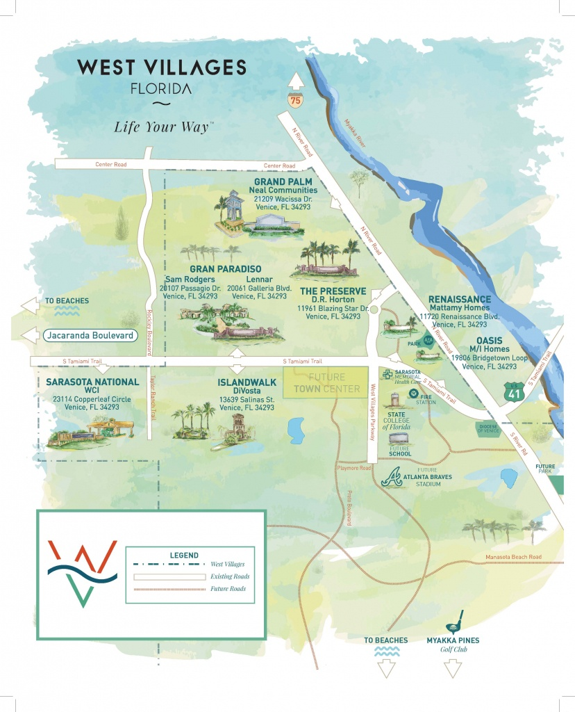 Press Releases - New Homes Sarasota, Home Builder Sarasota - North Port Florida Map