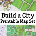 Pretend Play – Printable City Map | Game | Map Activities, Teaching   Community Map For Kids Printable