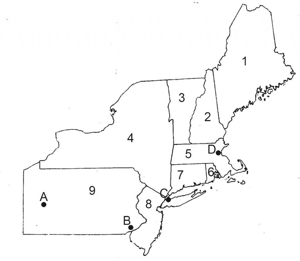 Print Northeast Map North East Usa - Berkshireregion - Printable Map Of Northeast Us