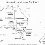 Printable Blank Map Australia Diagram Inside Of Noavg Me With States   Printable Map Of Australia With States