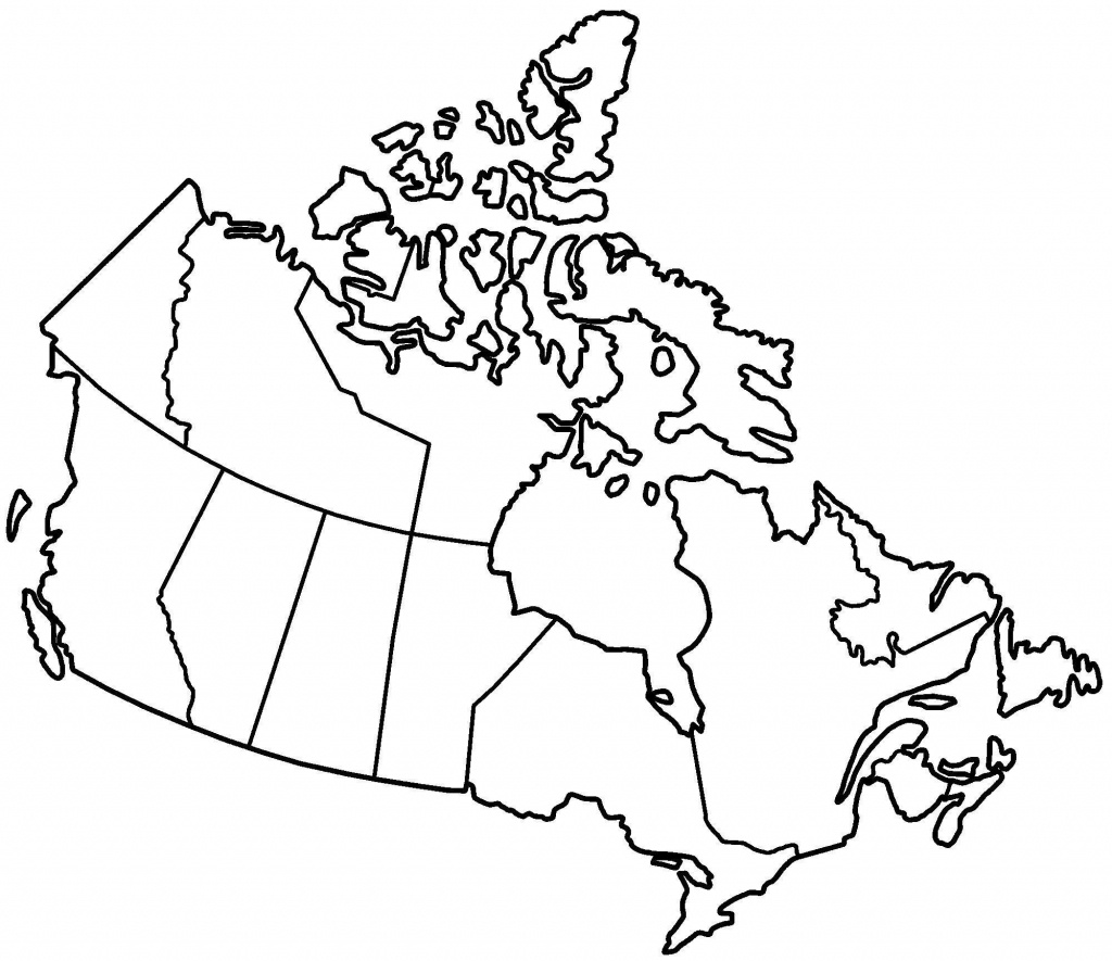 Printable Blank Map Of Canada To Label Popular Printable Maps Of - Printable Blank Map Of Canada To Label