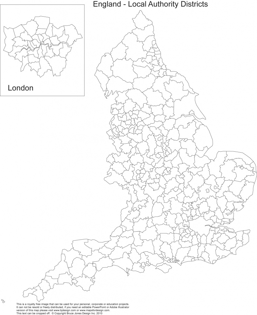 Printable, Blank Uk, United Kingdom Outline Maps • Royalty Free - Printable Map Of Uk Counties