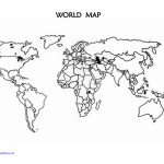 Printable Blank World Map Countries | Design Ideas | World Map - World Map Stencil Printable
