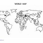 Printable Blank World Map Countries | Design Ideas | World Map   World Map Stencil Printable