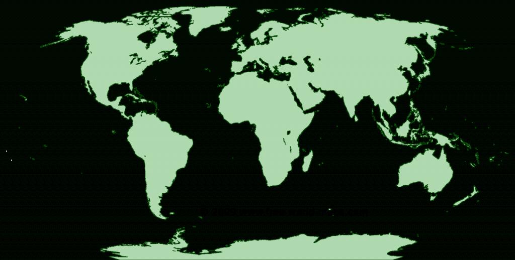 Printable Blank World Maps   Free World Maps - Printable World Map No Labels