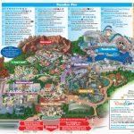 Printable California Adventure Map Printable Map Disneyland And   Printable Map Of Disneyland And California Adventure