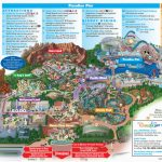 Printable California Adventure Map | Secretmuseum - California Adventure Map